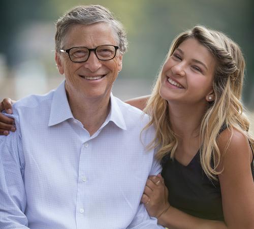 Bill Gates và con gái